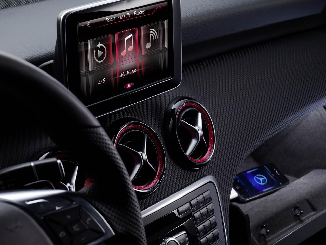 Siri no Classe A da Mercedes-Benz