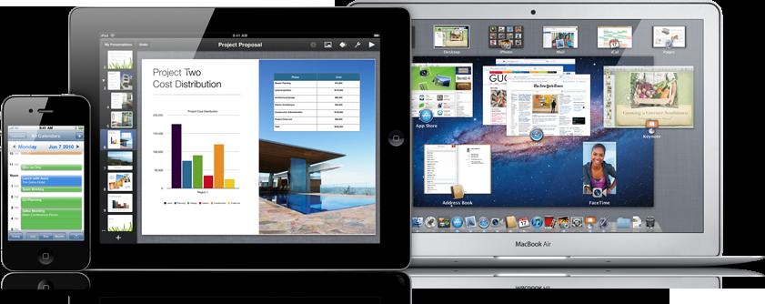 iPhone, iPad e MacBook Air em negócios - Apple Business