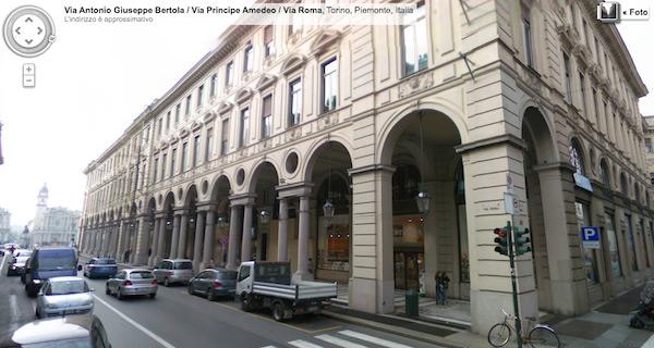 Local de Apple Retail Store em Turim, na Itália