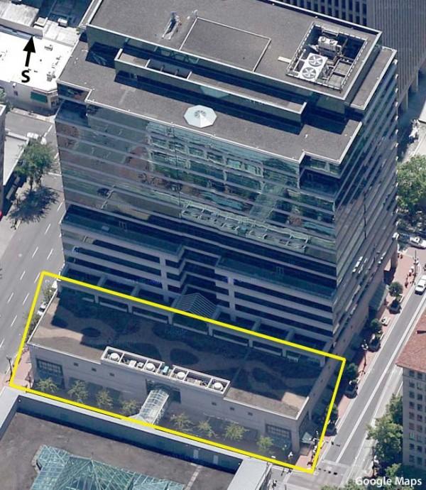 Possível novo local da Apple Store, Pioneer Place