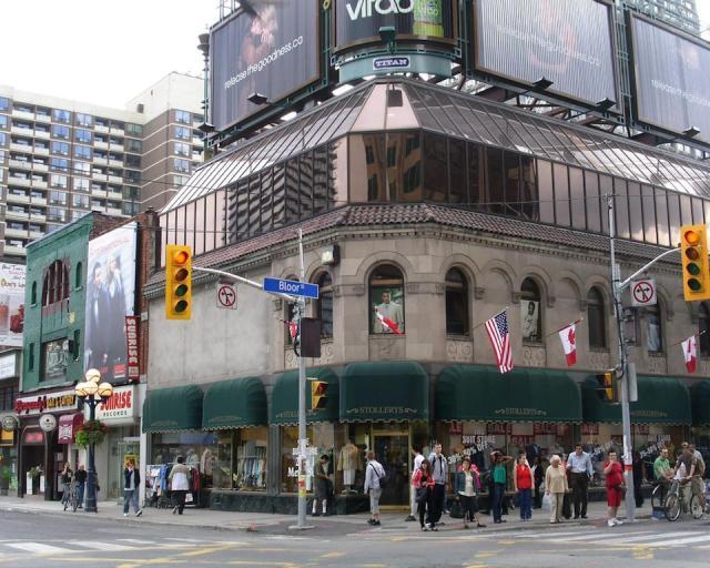 Local de uma possível Apple Store em Toronto (Canadá)