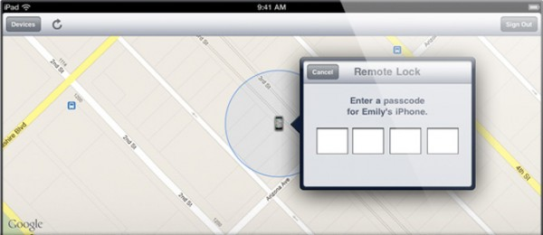 Remote Wipe no iCloud