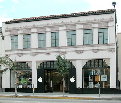 Antiga Apple Store, Pasadena