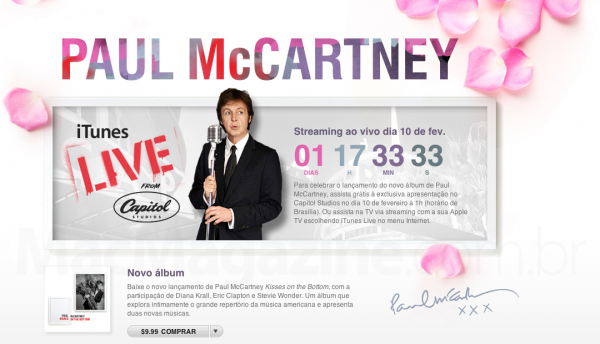 Paul McCartney - iTunes Store