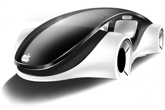 Conceito de iCar, carro da Apple