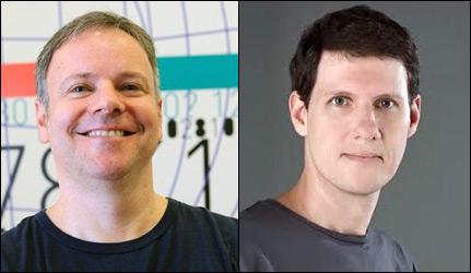 Beto Largman e Alexandre Ribenboim