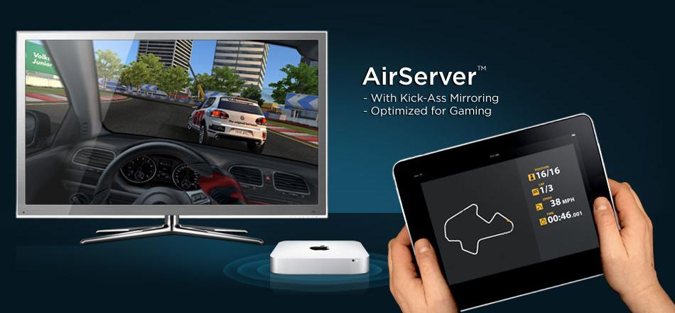 AirServer com AirPlay Mirroring