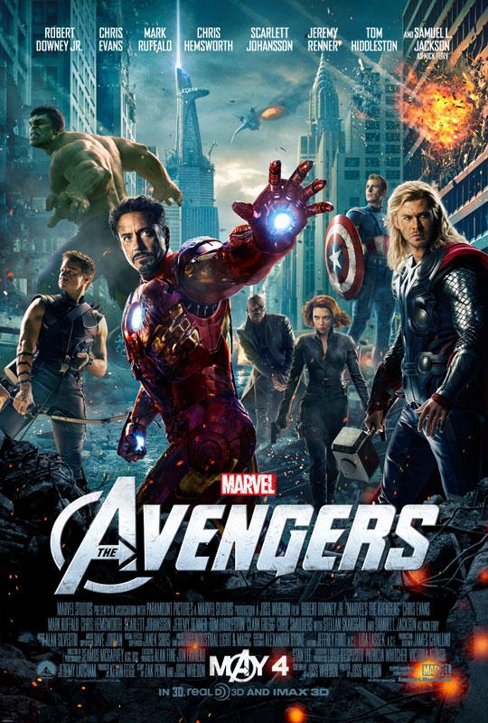 Pôster de filme - The Avengers