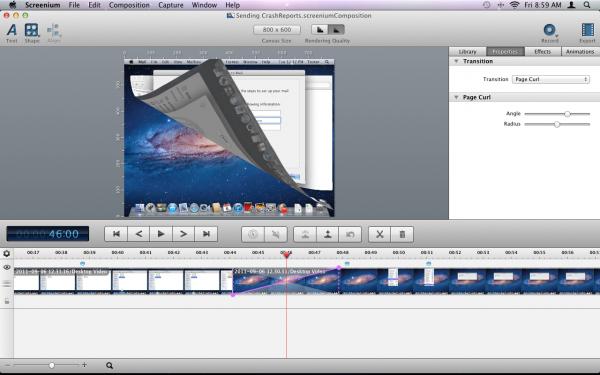 Screenium - Mac OS X