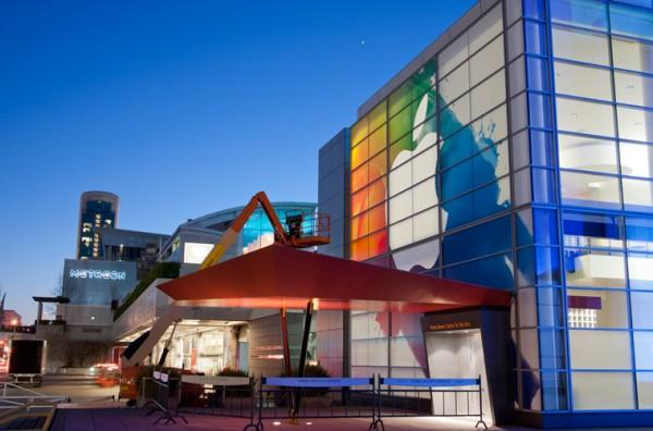 iPad 3 - Fachada do Yerba Buena Center for the Arts