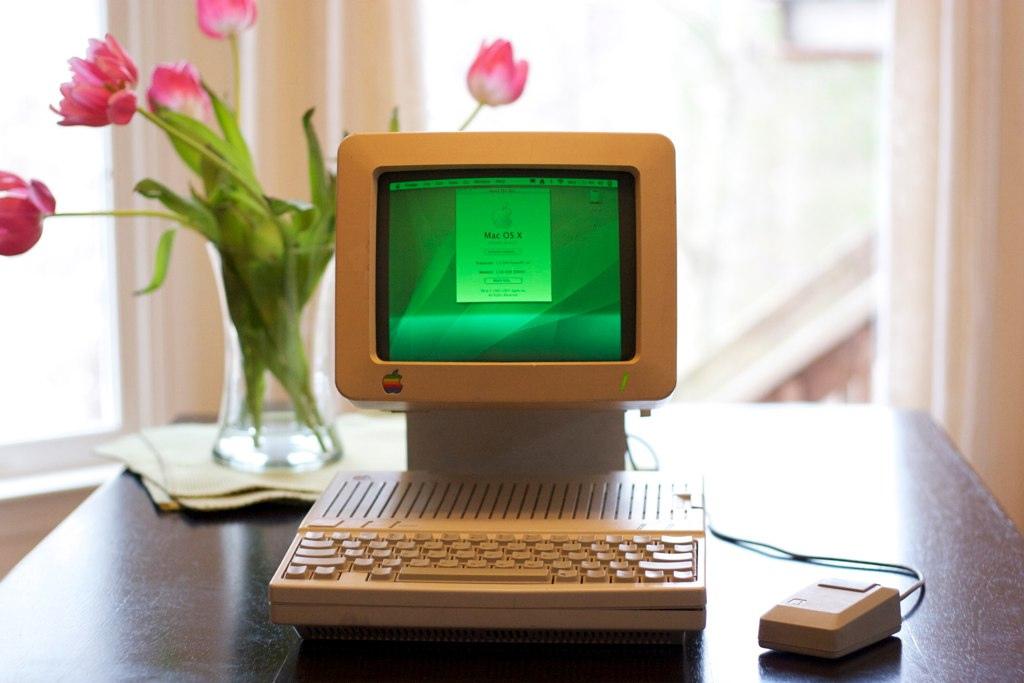 Apple IIc com G4