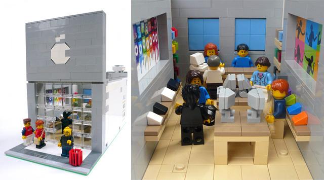 LEGO - Modular Apple Store