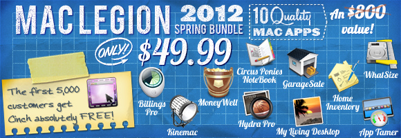MacLegion Spring Bundle 2012