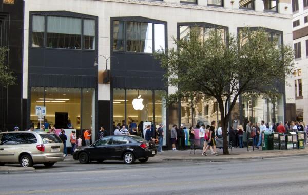 Pop-up store da Apple em Austin, para a SXSW 2011