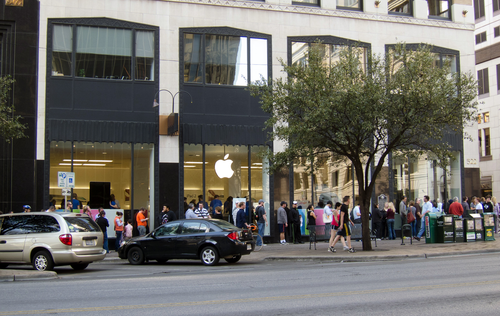 Pop-up store da Apple em Austin, para a SXSW 2011