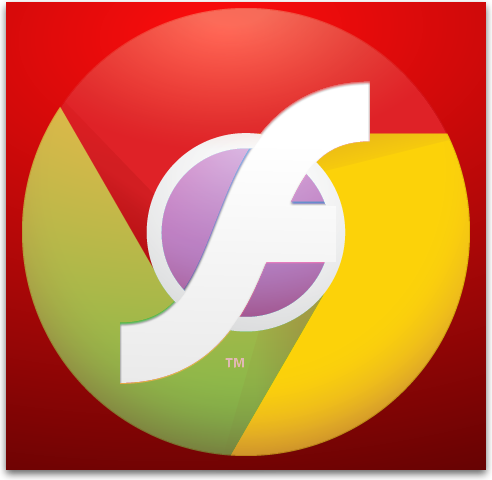 Ícones - Google Chrome e Adobe Flash Player