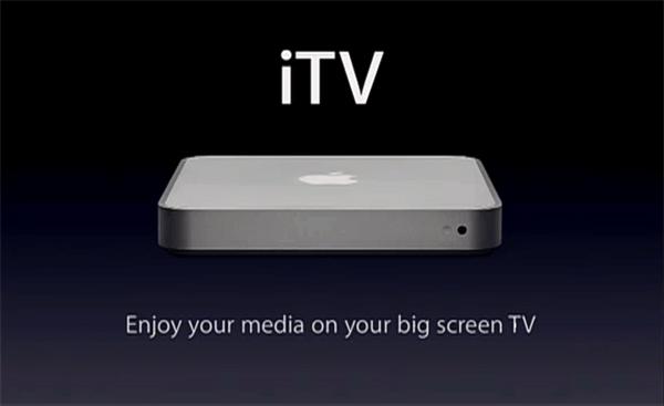 Apple TV quando ainda era iTV