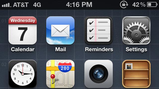 4G no iPhone 4S com iOS 5.1