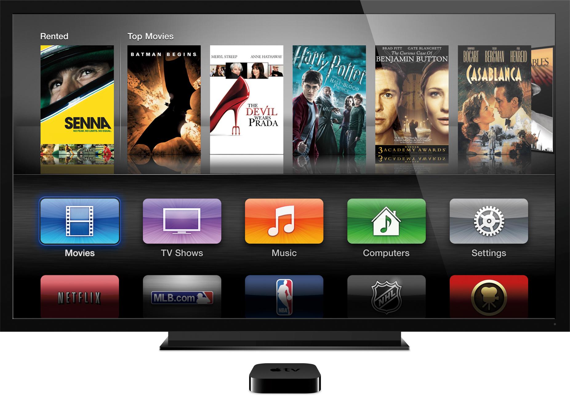 Nova Apple TV com Full HD 1080p