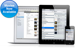 Movies no iTunes in the Cloud