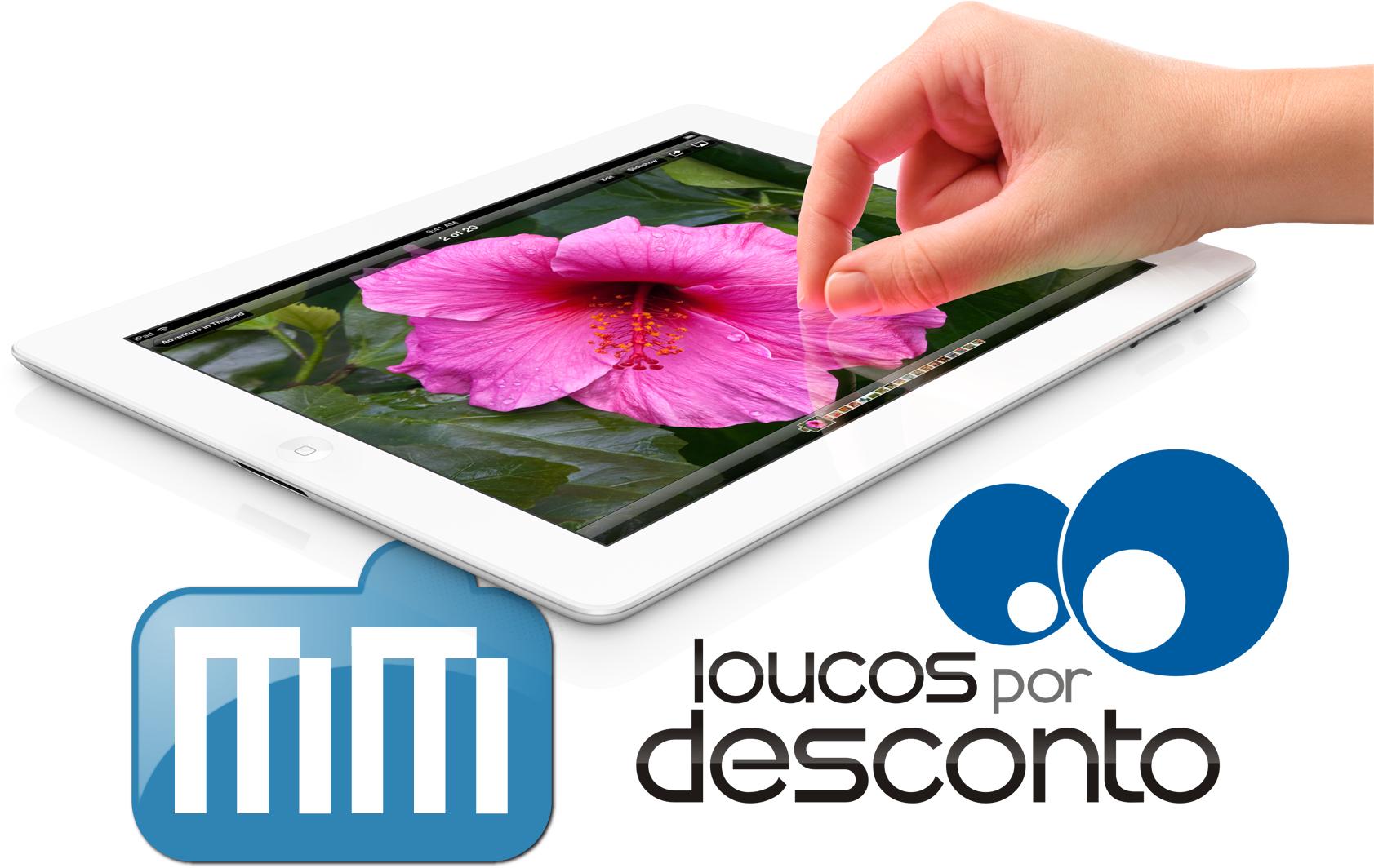 Novo iPad pelo MacMagazine e pelo Loucos por Desconto