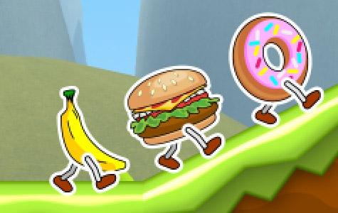 Food Run em uma tela de iPad 2