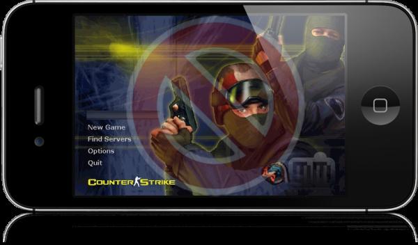 Counter Strike falso