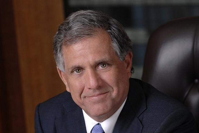 Leslie Moonves, CEO da CBS