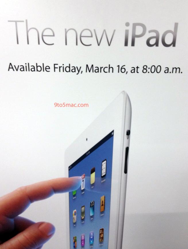 iPad às 8h da manhã