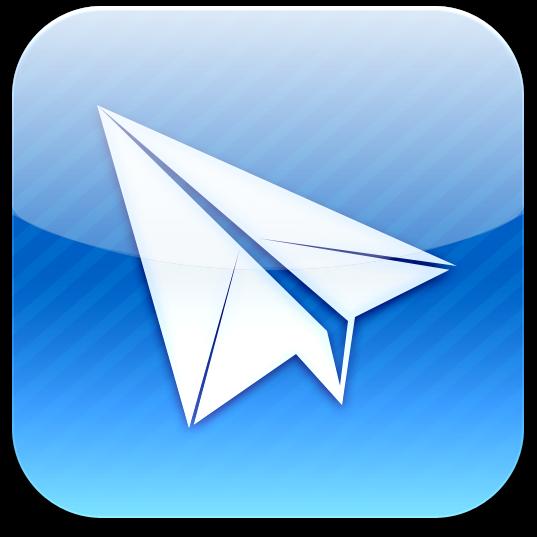 Ícone do Sparrow para iPhones/iPods touch