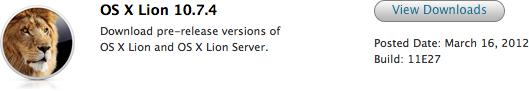 OS X 10.7.4 beta