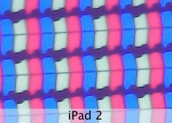 Pixels do iPad 2