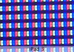 Pixels do novo iPad