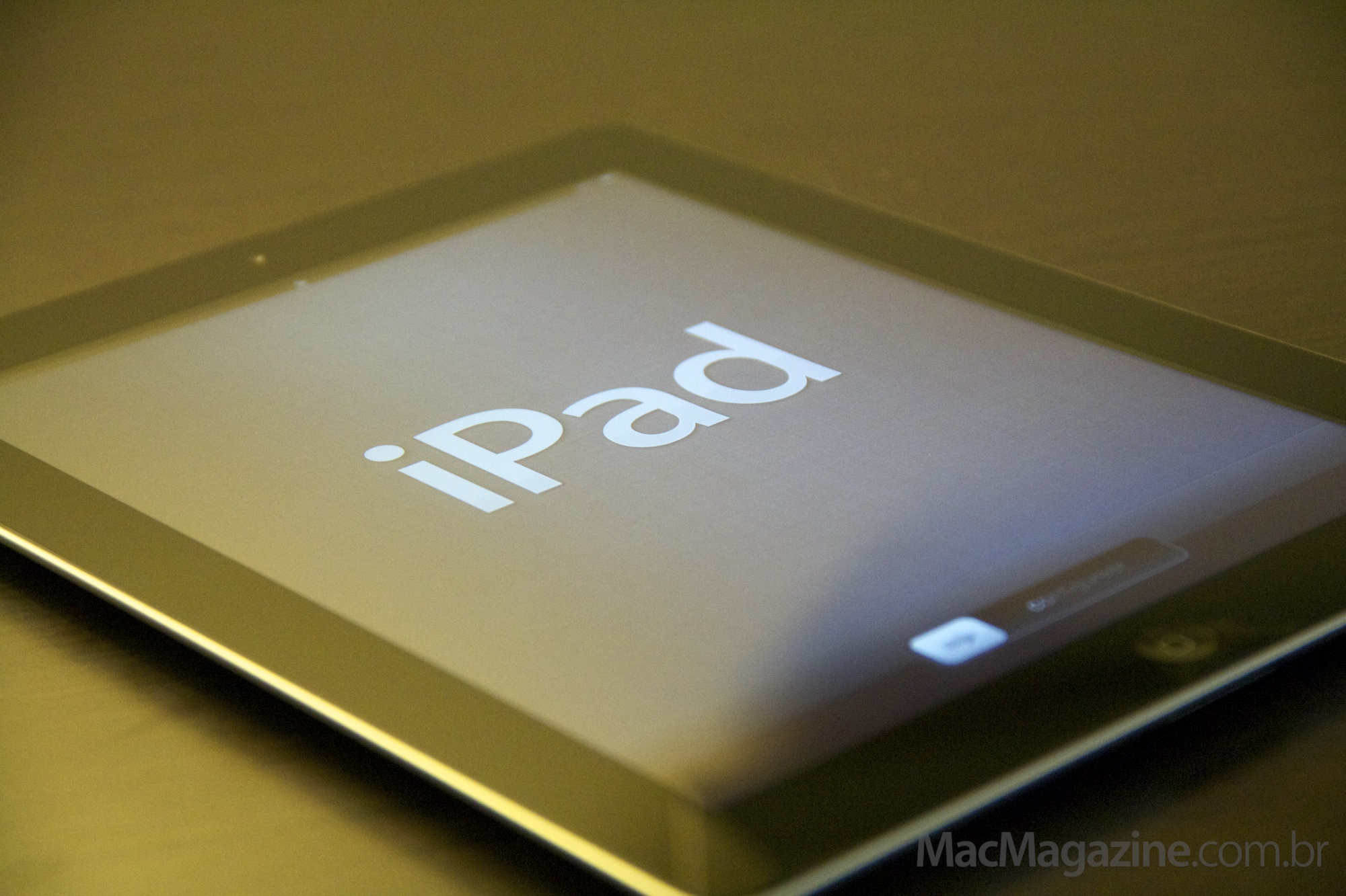 Unboxing do novo iPad