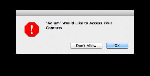 OS X Mountain Lion - Alerta