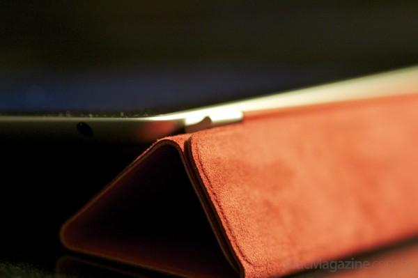 Foto macro do novo iPad