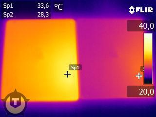 Comparativo de temperaturas entre o novo iPad e o iPad 2