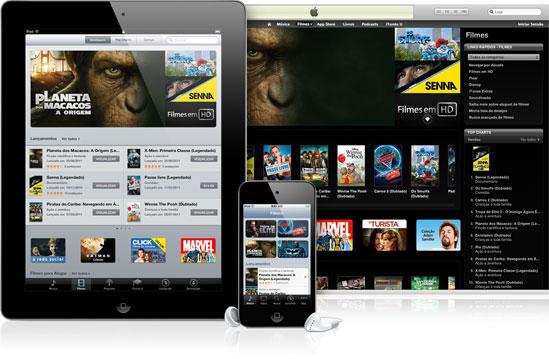 Filmes na iTunes Store Brasil