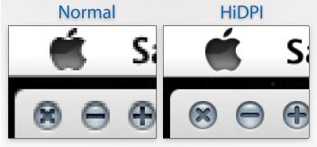 HiDPI no Air Display