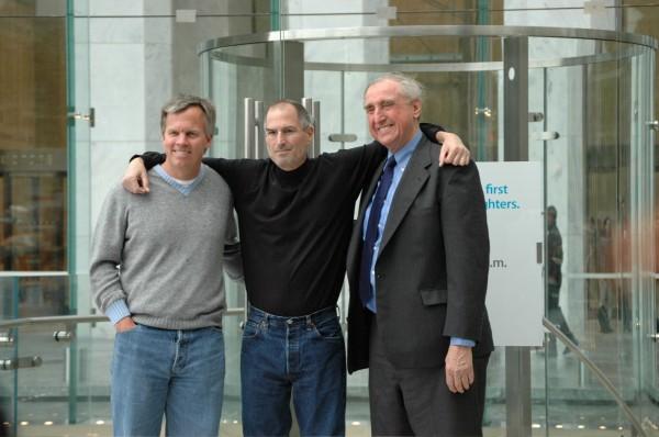 Ron Johnson, Steve Jobs e Bohlin Cywinski Jackson