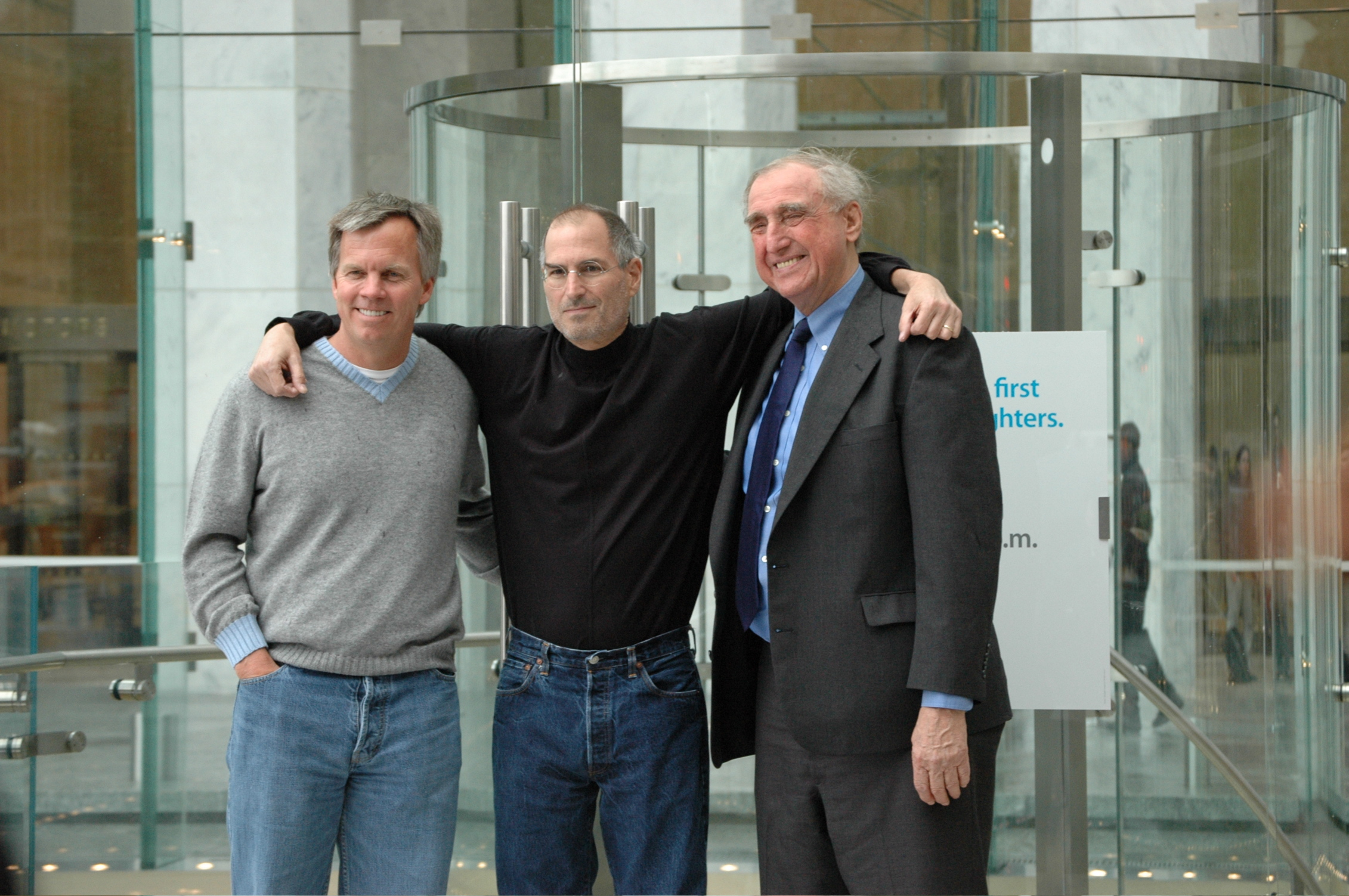 Ron Johnson, Steve Jobs e Bohlin Cywinski Jackson
