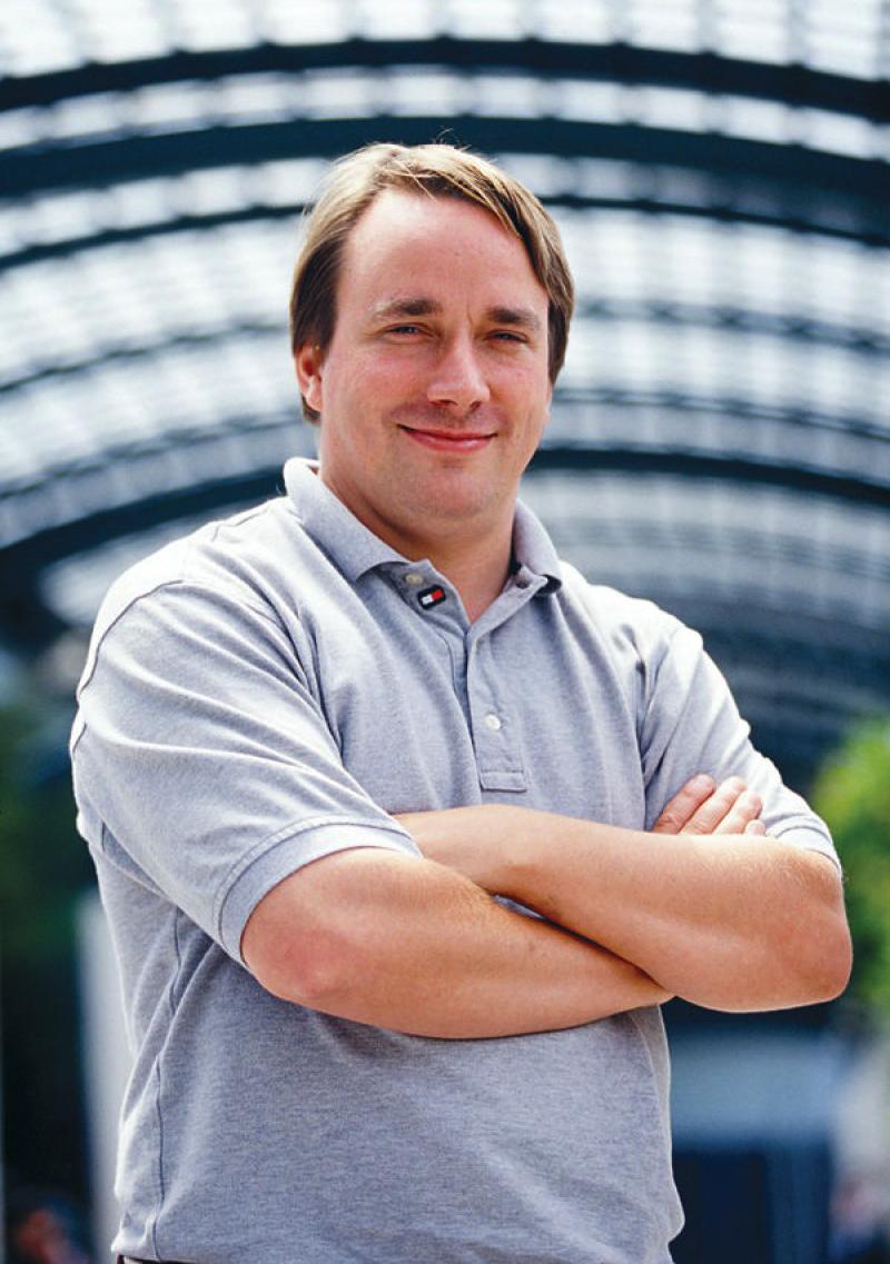Linus Torvalds, criador do Linux