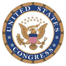 Logo do congresso americano