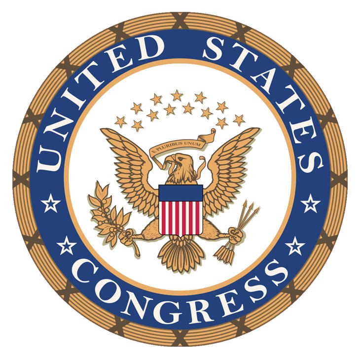Logo do congresso americano