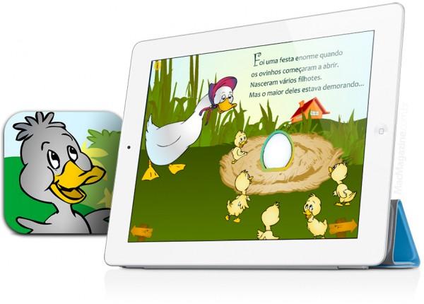 O Patinho Feio - iPad