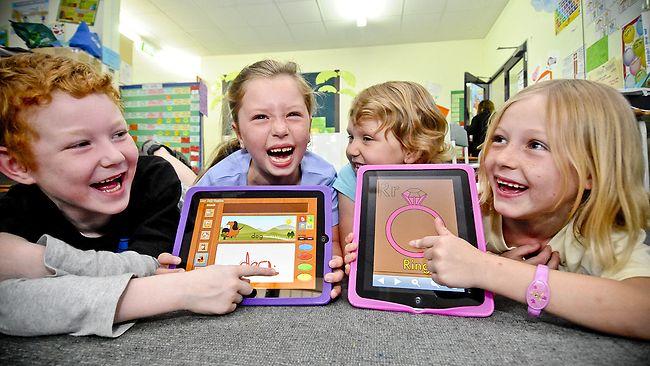 iPads em escolas