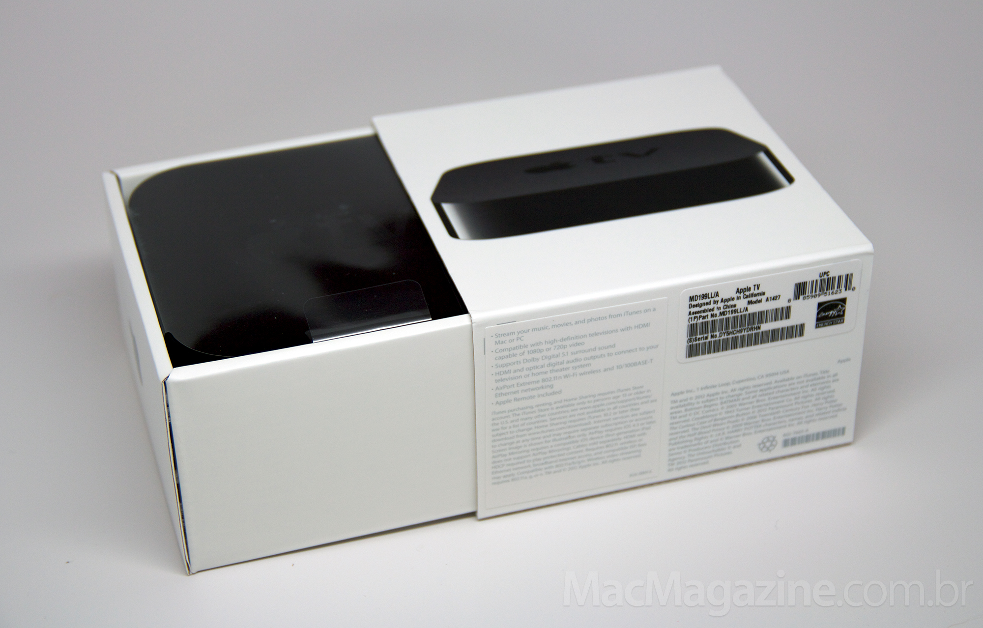 Review - Apple TV de terceira geração (foto by MacMagazine)