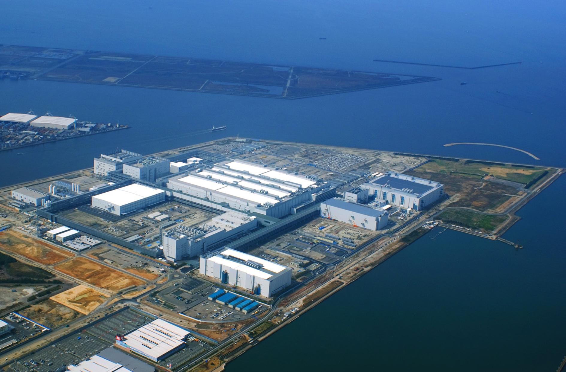 Fábrica de LCD da Sharp, em Sakai