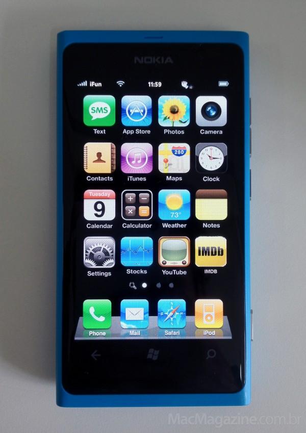 Nokia Lumia 800 com Windows Phone 7
