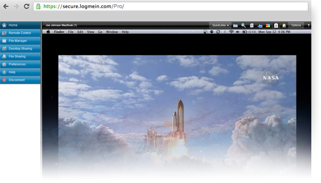 LogMeIn Pro com HD streaming